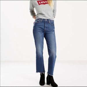 Levi's wedgie straight fit jean 26